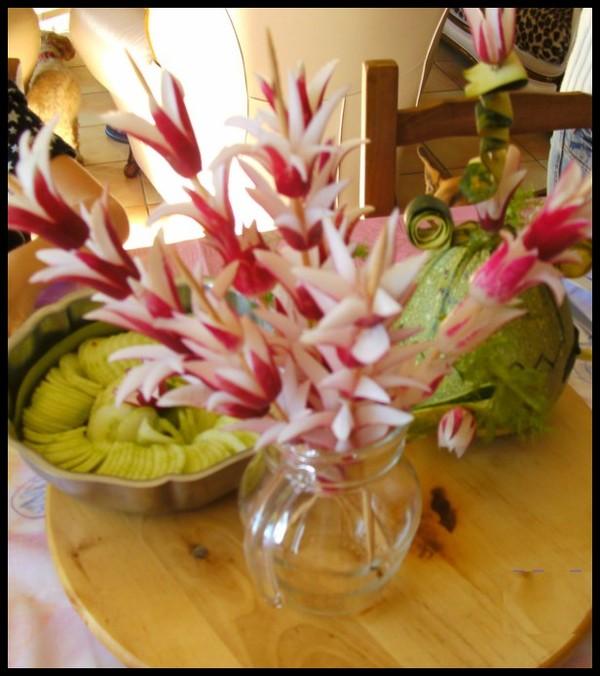 Decoration Legumes Radis : Decors de legumes charlotte